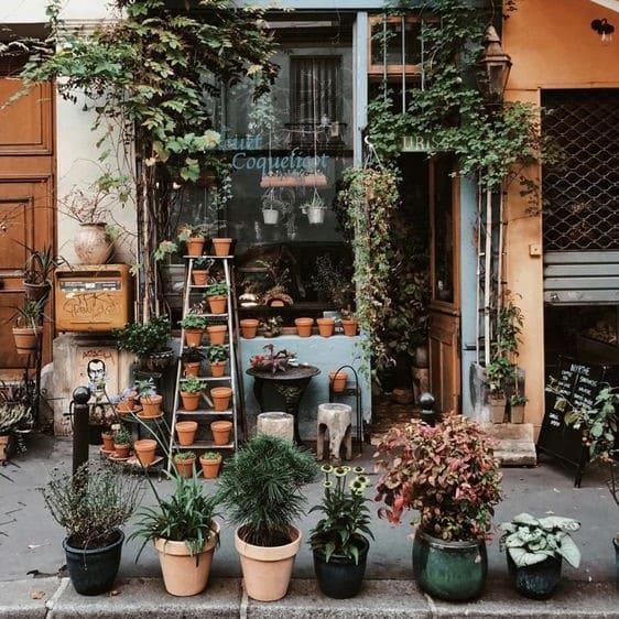 Flowershop in France